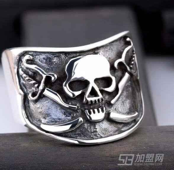 海盜船銀飾