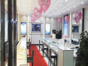 中国知名珠宝品牌克徕帝常德汉寿十字街门店隆重开业