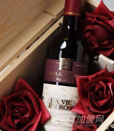 玫瑰人生紅酒