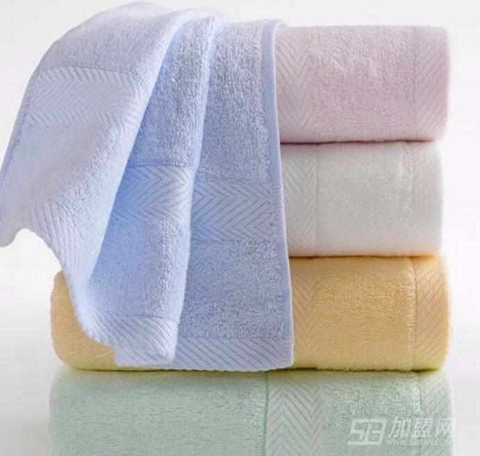 中国结竹纤维毛巾