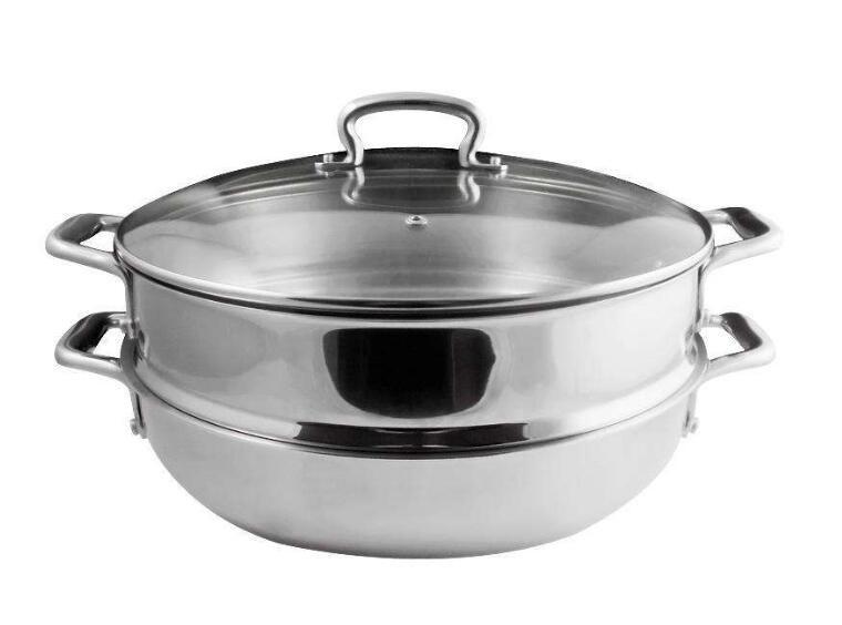 司顿双层蒸汤锅