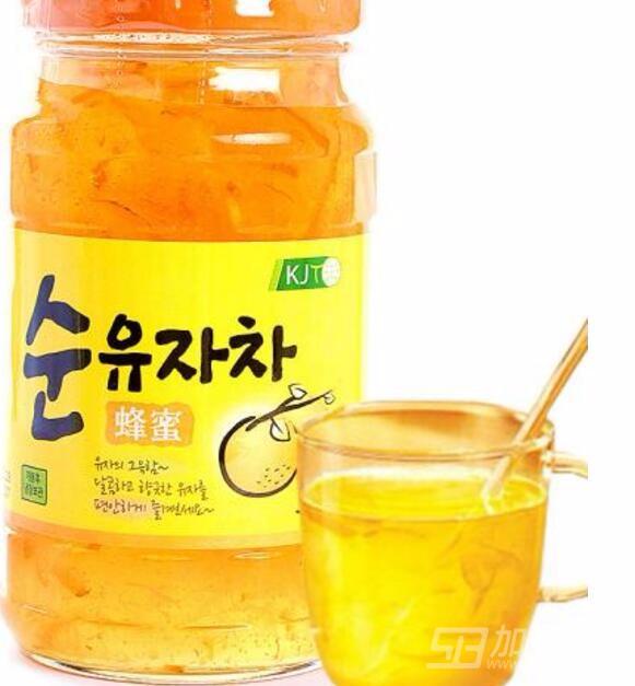 kj蜂蜜柚子茶