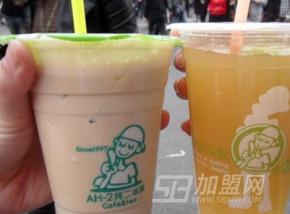 介绍阿二奶茶加盟店受欢迎的原因?