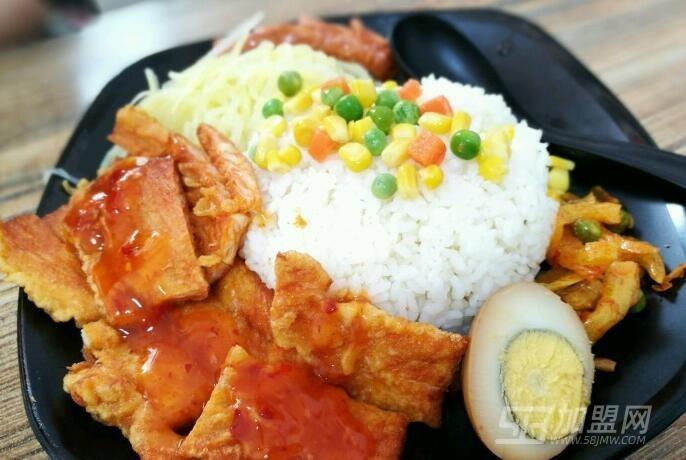 韩小范炸鸡拌饭加盟